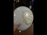 Оригинальная печать на шарах. Printing balloons.