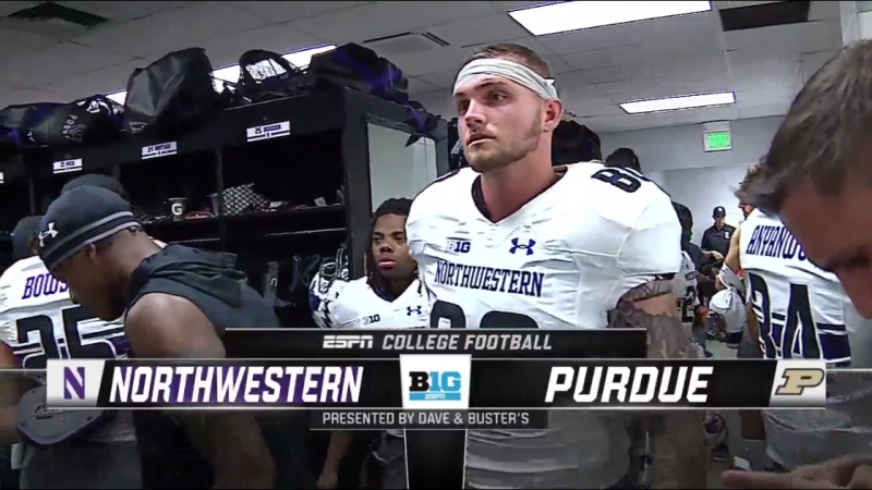 NCAAF 2018 Week 01 Northwestern Wildcats Purdue Boilermakers EN