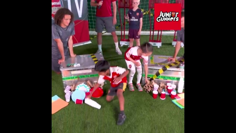 @MatteoGuendouzi vs @LichtsteinerSte - Ref@RobHolding95 and JG Lucas in the Tower Build Challenge - - Find out if Team Jay or Te