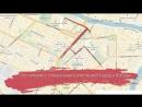 6 мая в центре Вологды ограничат движение транспорта