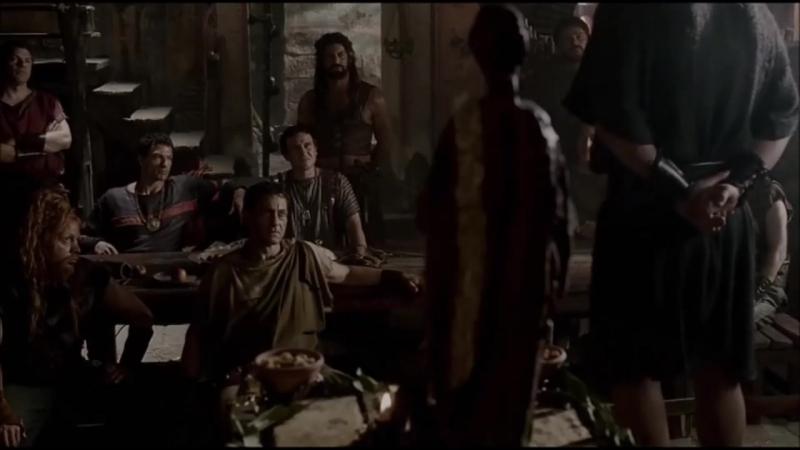 Отрезок из сериала Рим. Святая Конкордиа. Шикарные переговоры