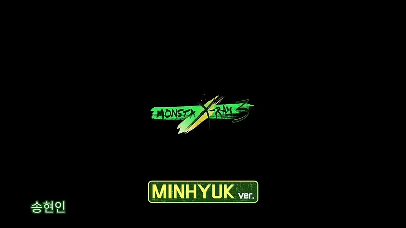 MONSTA X-RAY 3 (몬스타엑스레이 3) MINHYUK (민혁) 🐶