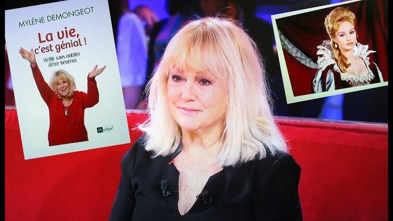Mylène Demongeot : interview (9 mn • avril 2018) pour son livre La vie, c'est génial !.