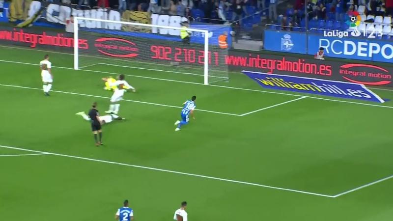 RC Депортиво Ла Корунья - Эльче CF, 4-0, Сегунда 2018-2019, 9 тур