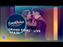 Amaia y Alfred - Tu Canción - Spain - LIVE - Grand Final - Eurovision 2018