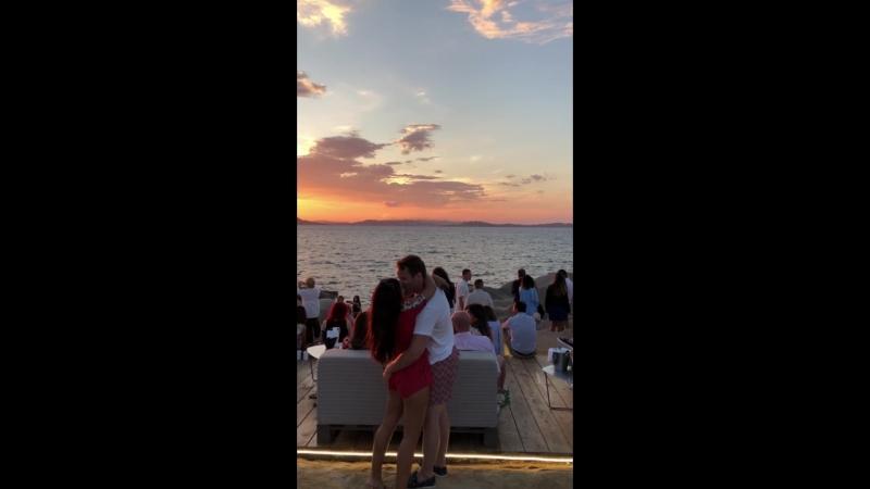 Sunset at Phi Beach