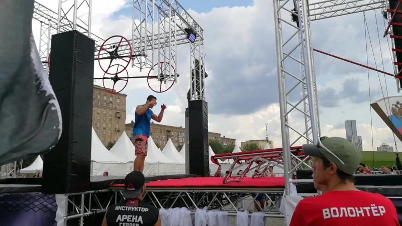 Никита Хайдуков Арена Героев 04 08 2018