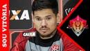 Em coletiva: Léo Ceará analisa partida contra o Botafogo e pede ajuda da torcida
