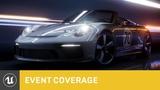 The Speed of Light Porsche 911 Speedster Concept SIGGRAPH 2018 Unreal Engine