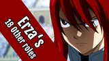 18 Anime Characters That Share The Same Voice Actress as Fairy Tail's Erza Scarlet