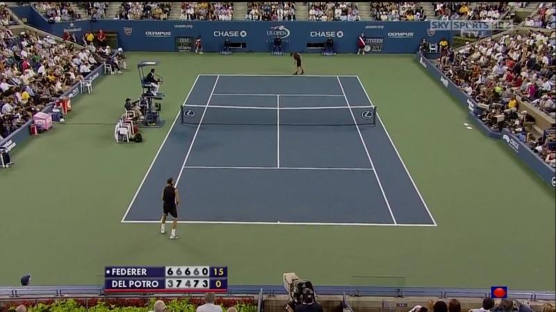 2009 USO F del Potro def Federer, part 2