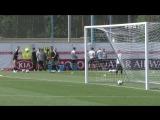 Гол Криштиану Роналду на тренировке Португалии