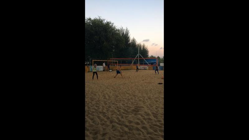 Пляжный волейбол в Магнитогорске Live