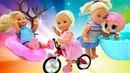 Мультик Штеффи все серии подряд. Сборник с куклами Барби