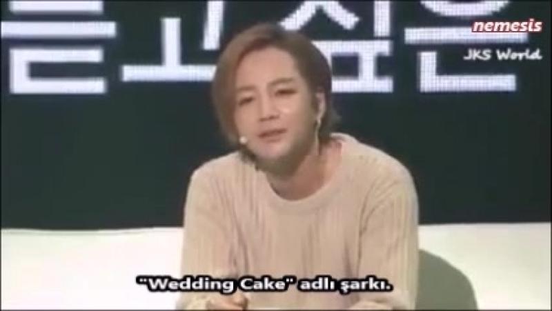 Jang Keun Suk, Love Rainden Wedding Cake şarkısını söylüyor.
