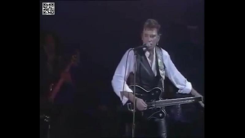 Johnny Hallyday - La Cigale 1994