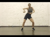 new female dancehall move #BirthdayWine by Nastya Sloboda