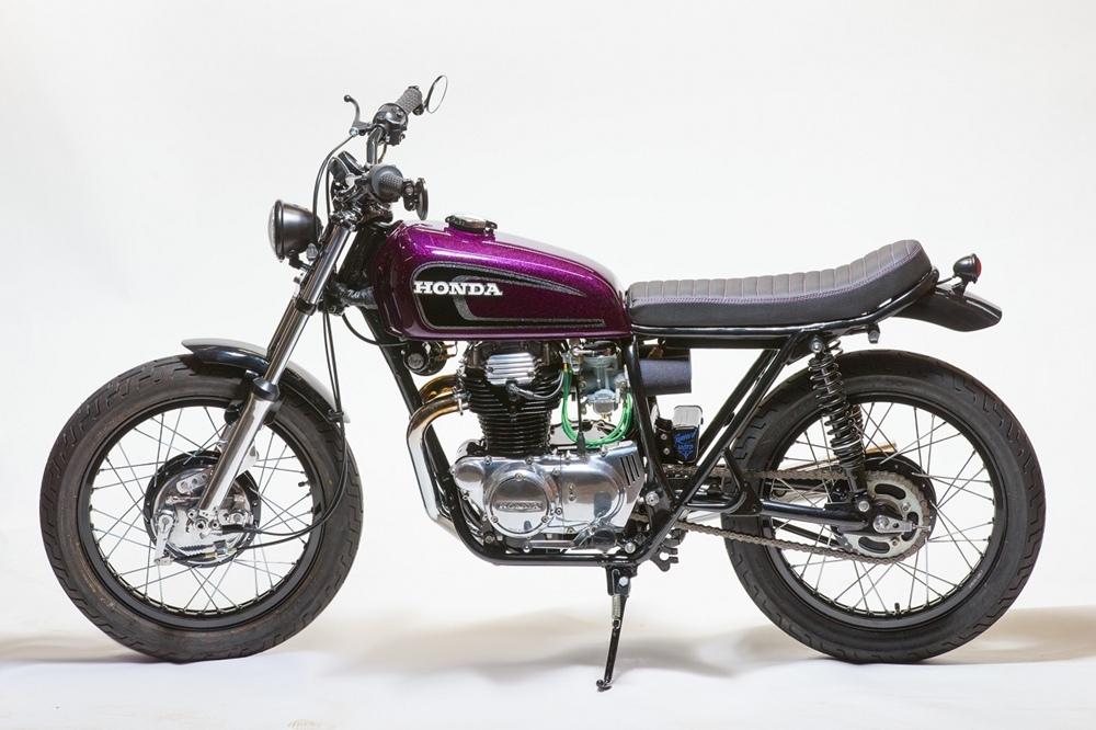 Renew'd Moto: трекер Honda CB360