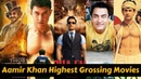 20 Highest Grossing Movies of Aamir Khan with Box Office Collection