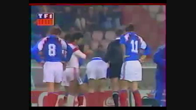 30.03.1991. Группа 1. Франция - Албания