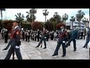 Jueves Santo 2019 ALHAURIN de la TORRE, Homenaje a Guardia Civil, HIMNO, España, 18/04