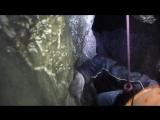 Оксана. Выход из пещеры.