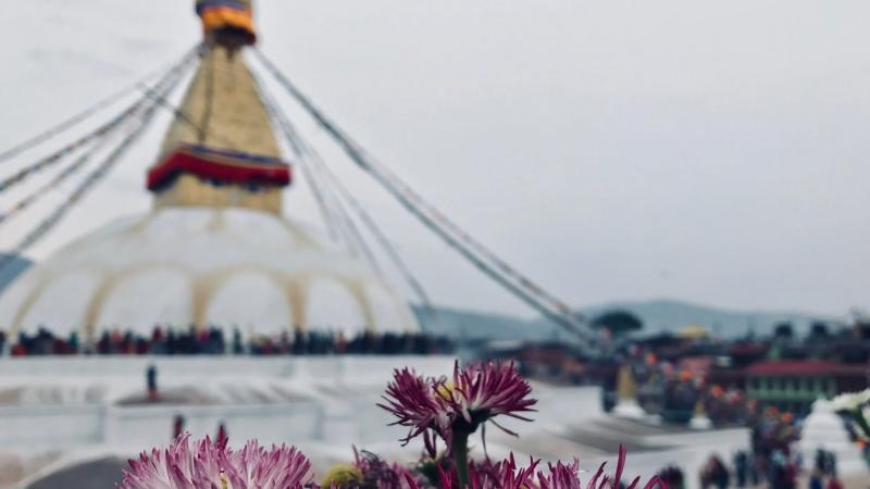 Непальские бродяги в Катманду