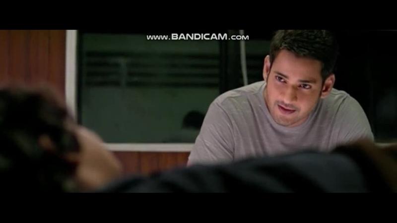Меня зовут Бхарат / отрывок из фильма / Махеш Бабу и Киара Адвани