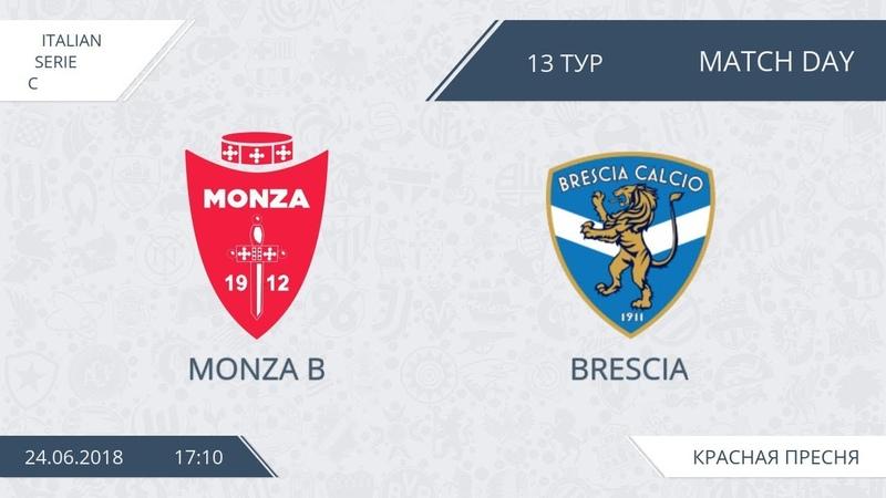 AFL18. Italy. Serie C. Day 13. Monza B - Brescia