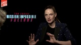 Mission Impossible Fallout Interview withRebecca Ferguson