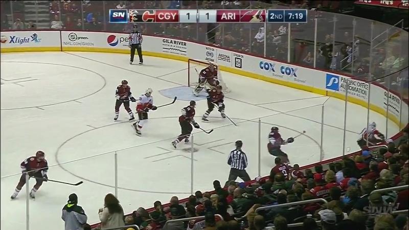 NHL Game Highlights _ Flames vs. Coyotes - Mar. 18, 2018