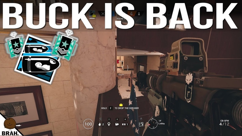 Important Buck Spots Part 1 - Bank, Clubhouse Coastline - Rainbow Six Siege