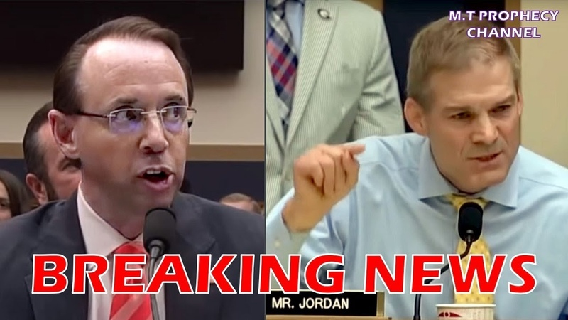 CONFIRMED Rosenstein NEVER SAW THIS COMING! Jim Jordan CALLS Him A LIAR On Live TV! IT'S OVER!