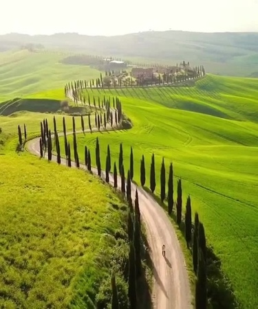 A road in Tuscany