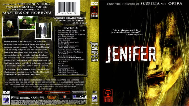 Дженифер - Jenifer (2005 Dario Argento)