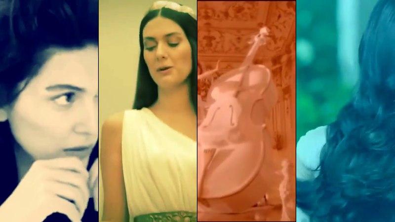 Fashion style from Berguzar Korel (Music from Aykut Gürel Presents Bergüzar Korel )