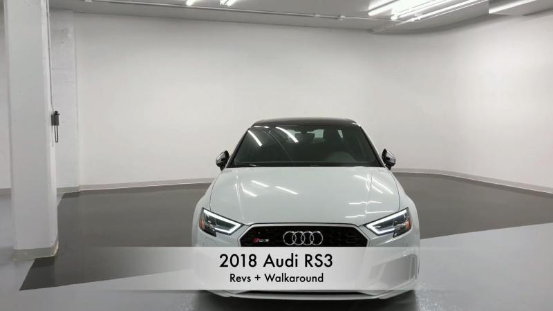 2018 Audi RS3 - Revs Walkaround in 4K