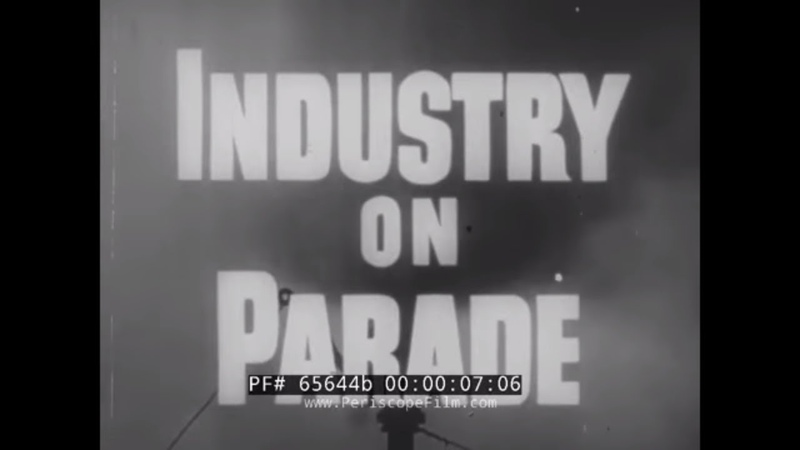 INDUSTRY ON PARADE MECHANIZED FARMING HARVESTING FRUIT TREES PESTICIDES 65644b