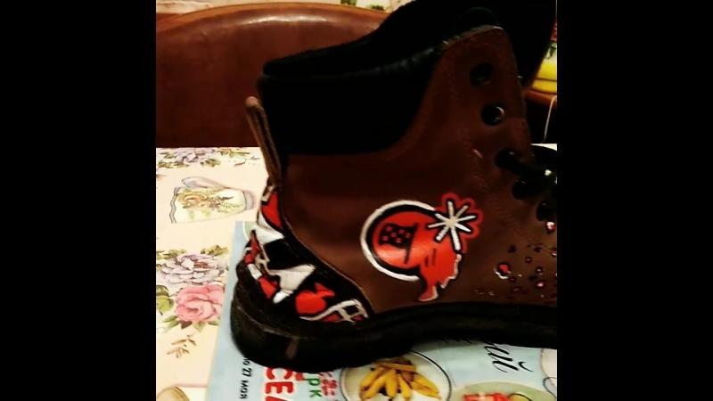 Rally shoes. Обувь для фанатов Ралли. ХЕНД МЕЙД)!