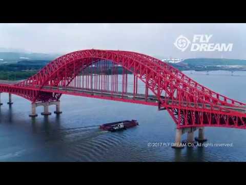 [플라이드림]드론으로 본 한강다리 및 주변 풍경 (4K)