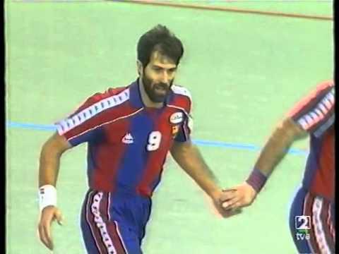 Liga ASOBAL 1992/93 - Teka vs Barcelona - GI Jor.05 (Santander)