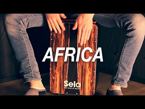 Cajon Lesson: How To Play Africa On Cajon (Toto)