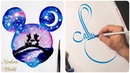 Best Calligraphy Lettering Watercolor painting 💙Most Amazing Art Video 2018! Satisfying Art video