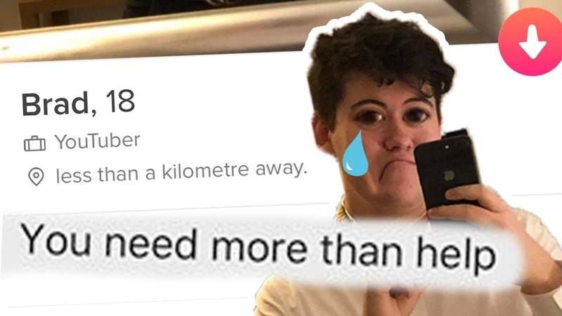This is what happened when I tried tinder for the first time