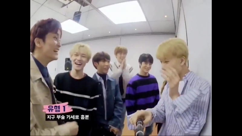 MARK GOT TOO EXCITED AND HIS HIGH FIVE WAS TOO STRONG THAT JISUNG REACTED LIKE THAT SJDJDH