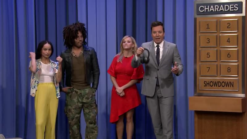 Lip Sync Charades with Reese Witherspoon, Lenny Kravitz and Zoë Kravitz
