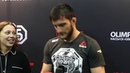 KHALID MURTAZALIEV SURPRISED fight wasn't stopped EARLIER