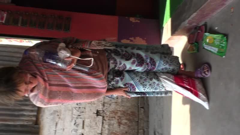 Руская голодрань в Индии в Навадвипе на парикраме 1 часть