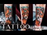 Tattoo story Autumn fox
