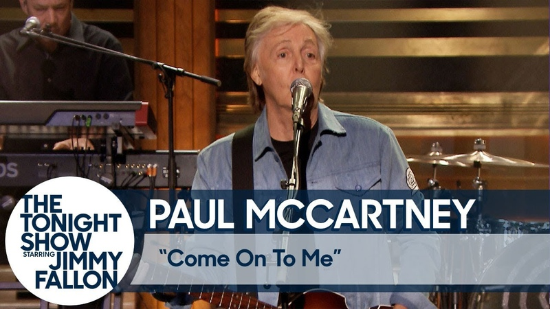 Paul McCartney Come On to Me The Tonight Show with Jimmy Fallon